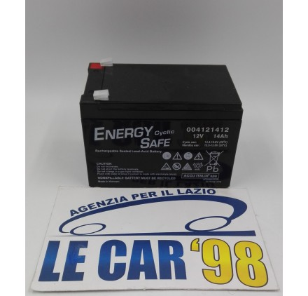 BATTERIA ERMETICA ENERGY SAFE CYCLIC 12V 14AH 4121412